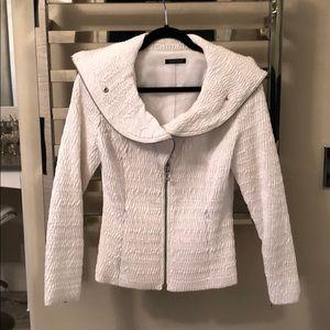 Samuel Dong white jacket.